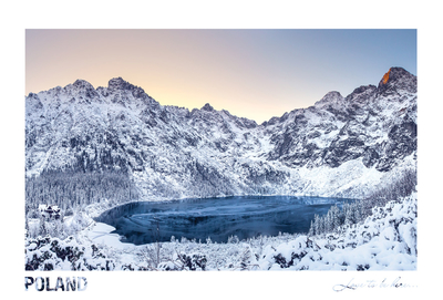 Poland - Love to be here... - Morskie Oko zimą